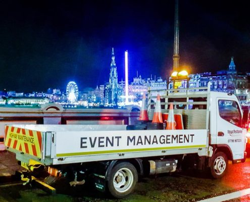 Touchstone Traffic Event Management Hogmany Edinburgh