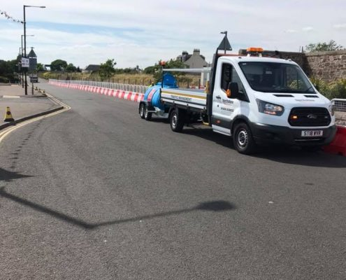 Touchstone Traffic Waterfilled Barrier Carnoustie