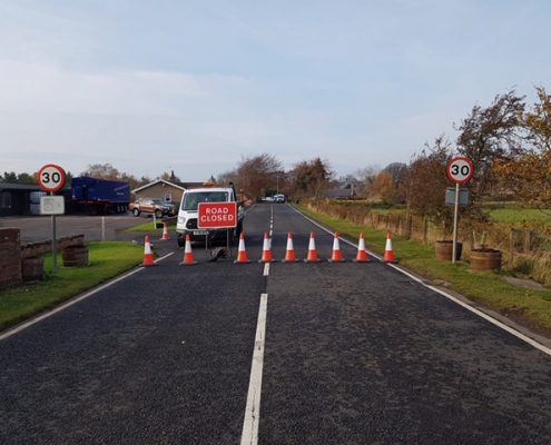 Touchstone Traffic Road Closed Kelso